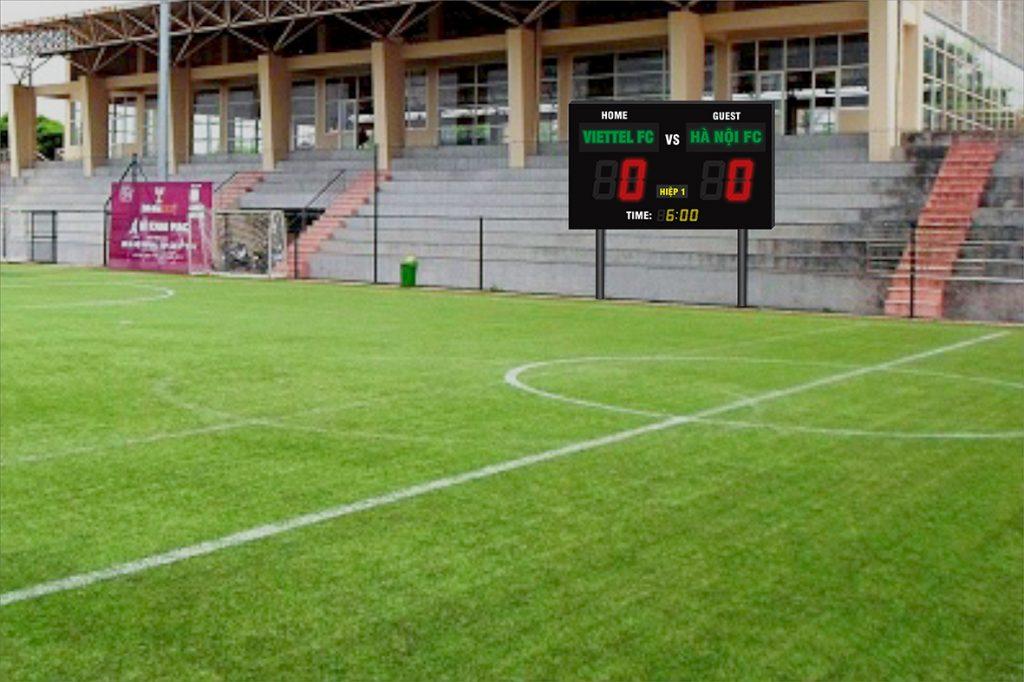 Bảng điện tử thi đấu bóng đá