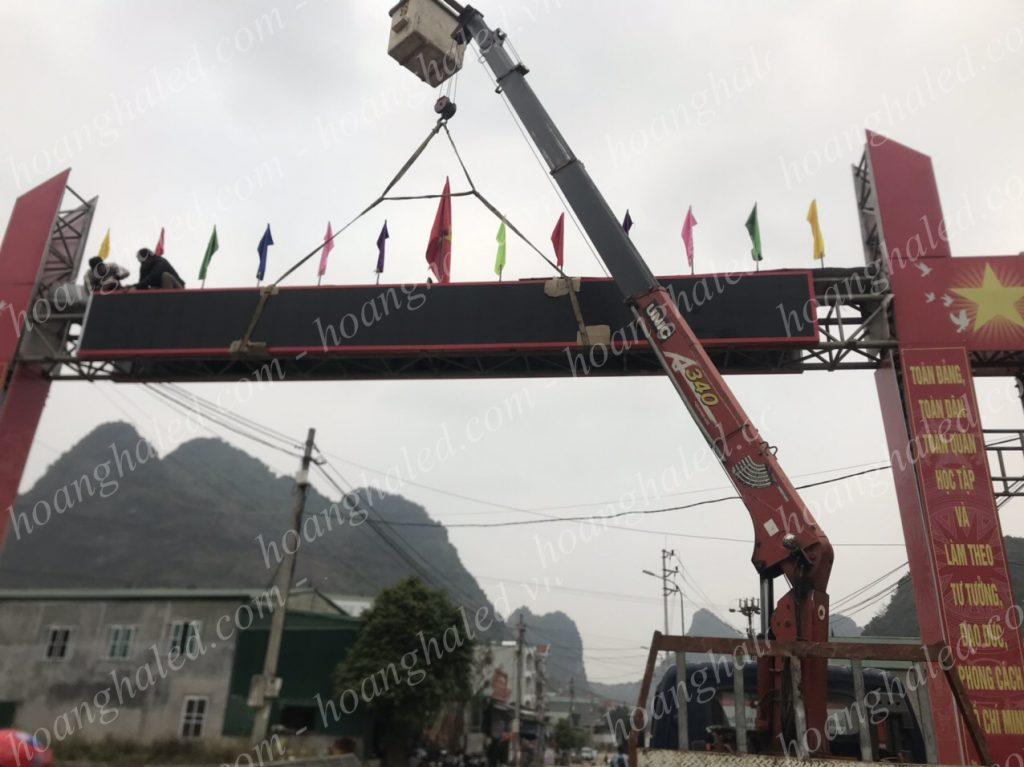 Bảng điện tử led huyện Trùng Khánh Cao Bằng