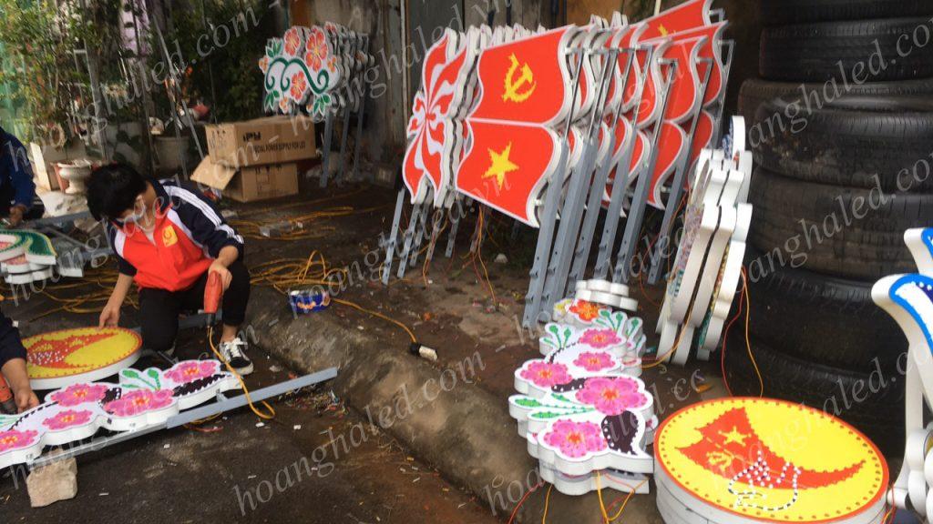 Khung hoa văn trang trí tại Cao Bằng