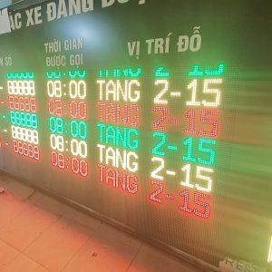 Bảng điện tử gọi xe tại Sân bay Nội Bài