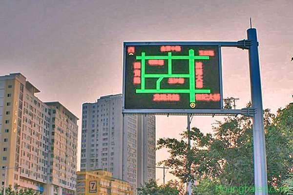 bảng led chỉ dẫn giao thông